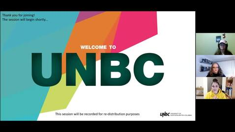 Thumbnail for entry 02.25.2021  UNBC Undergraduate Awards & Financial Aid Information Session