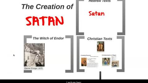 Thumbnail for entry The Creation of Satan