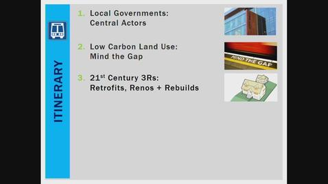 Thumbnail for entry Smart Growth, Smart City: practical land use tools to build better communities, better economies, and a better climate. Alex Boston, Renewable Cities - March 8 2019