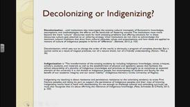 Thumbnail for entry Practical Approaches to Decolonizing Education: Critical Theory and Blackfoot Frameworks - Dr. Dustin Louie - February 22 2018