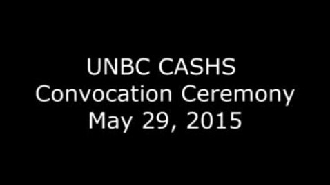 Thumbnail for entry CASHS Convocation 2015