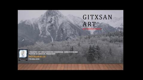 Thumbnail for entry Gitxan Art , Trevor Angus - UNBC Aboriginal Speaker Series - November 8 2018