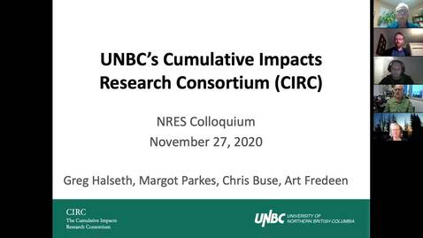 Thumbnail for entry Cumulative Impacts Research Consortium - November 27 2020