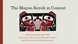 Thumbnail for entry The Maiyoo Keyoh in Context