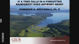 Thumbnail for entry If a Tree falls in a forgotten Rainforest does anybody hear? – Dominick A. Dellasala – September 14, 2017