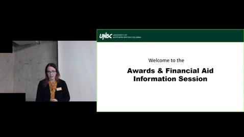 Thumbnail for entry Awards and financial Aid Webinar Feb 2020