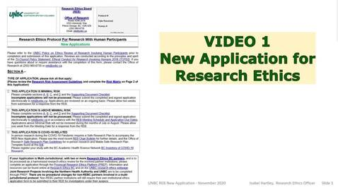 Thumbnail for entry New Application Form - Assessment of Study Guiding Researchers