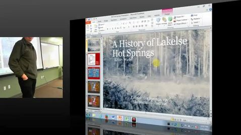Thumbnail for entry Kelsey Wiebe - A History of the Lakelse Hot Springs