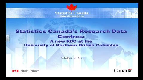 Thumbnail for entry NRESi Colloquium: October 21, 2016 - Introducing RDC at UNBC. Dr Cindy Hardy, Psychology Department Chair, University of Northern British Columbia, and NRESi 2016 Annual Awards presentation