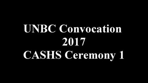 Thumbnail for entry CASHS Convocation 2017
