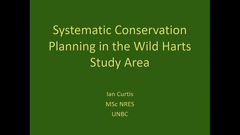 Thumbnail for entry Systematic Conservation Planning in the Wild Harts Study Area - Feb 15 2019 - Ian Curtis