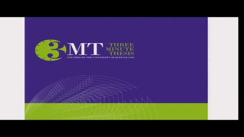Thumbnail for entry 3MT (3 Minute Thesis) UNBC Research Week - Tuesday March 3, 2020
