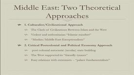 """Thumbnail for entry Middle East After the Arab Spring: On the Fallacy of """"Middle East Exceptionalism"""" - Dr. Mojtaba Mahdavi ECMC Chair in Islamic Studies Associate Professor, Political Science University of Alberta - Global Fridays February 10, 2017"""