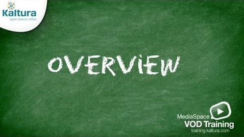 Thumbnail for entry MediaSpace Overview | Kaltura Tutorial