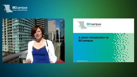 Thumbnail for entry A Short Introduction to BCcampus