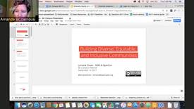 Thumbnail for entry Webinar with Lorraine Cheun