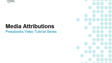 Thumbnail for entry How to Add Media Attributions