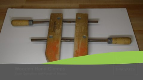 Wooden Hand Clamps