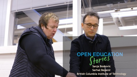 Thumbnail for entry Open Education Stories: Learning Between the Lines with OER