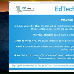 Thumbnail for channel EdTech Demos