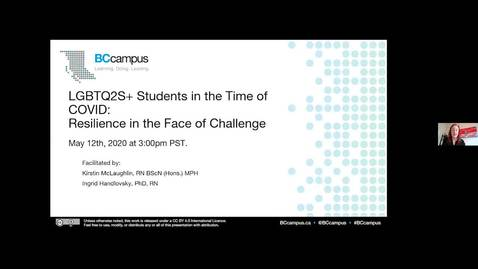 Thumbnail for entry LGBTQ2S+ Students in the Time of COVID: Resilience in the Face of Challenge (May 12)