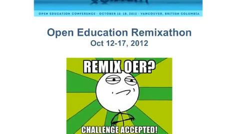 Thumbnail for entry Remixathon