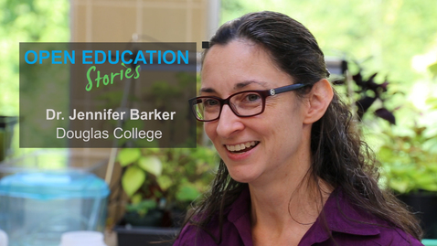 Thumbnail for entry Open Education Stories: Removing Barriers to Access with Jennifer Barker