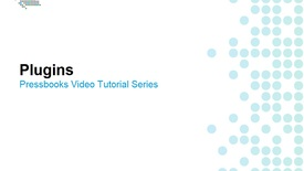 Thumbnail for entry How to Enable Plugins