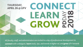 Thumbnail for entry Connect Learn Grow PD Day 2018