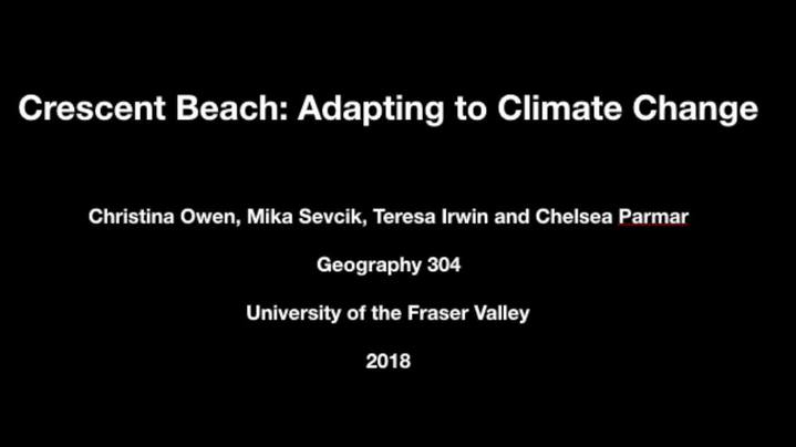 Thumbnail for channel GEOG-304 - Coasts and Climate Change