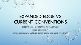 Thumbnail for entry Expanded Edge vs Current Conventions options for Crescent Beach