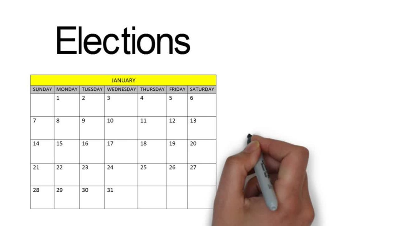 Elections for the Board of Governors & Senate
