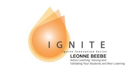 Thumbnail for entry Ignite Innovation Series - Leonne Beebe