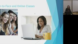 Video 3 Face to Face and Online Courses
