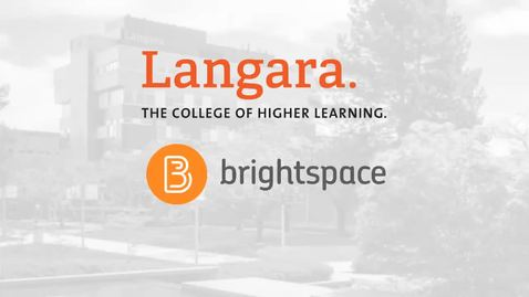 Brightspace by D2L: Discussions