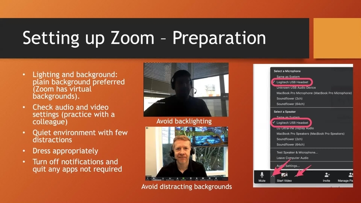 Remote Teaching with Zoom (Basics) - March 26, 2020