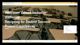 Thumbnail for entry EdTech Instructor Gathering 2017-05-05: Universal Design for Learning