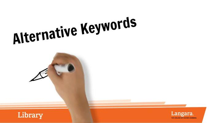 Alternative Keywords
