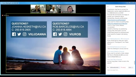 Joanna Hesketh and Rob Barcelos: VIU Teaching and Learning Conference Virtual Day 2017