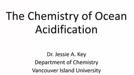 Thumbnail for entry The Chemistry of Ocean Acidification