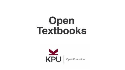 Thumbnail for entry What are Open Textbooks?