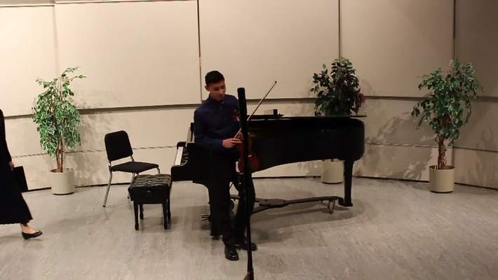 Music@Midweek - KPU Performance Major, Gower Sun (violin)