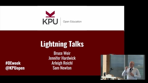 Thumbnail for entry Open Ed Event 2020 - Lightning Talks 2, Support & Opportunities, Closing