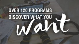 Thumbnail for entry Over 120 programs. Discover what YOU want.