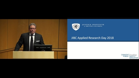 Thumbnail for entry Applied Research Day 2018