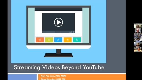 "Thumbnail for entry ""Streaming Videos Beyond YouTube"" Workshop - July 30, 2020"