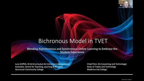 Thumbnail for entry TLR Symposium 2021, Day 1: #07, Bichronous Model in TVET