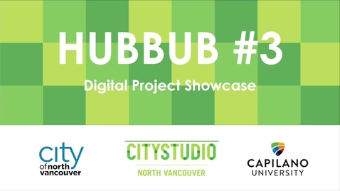 Thumbnail for entry HUBBUB #3 Digital Project Showcase Launch Video (Source)
